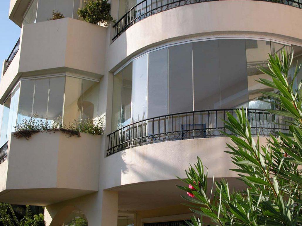 cerramientos en balcón