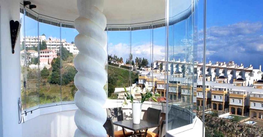 balcon curvo